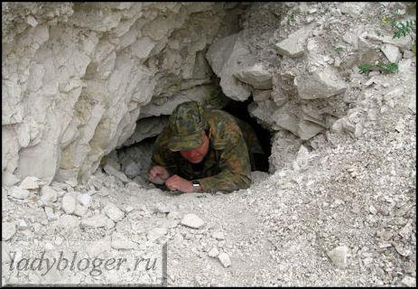 Лаз в Старую пещеру