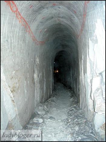 Туннель к колодцу