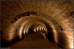 туннель в городе Акко