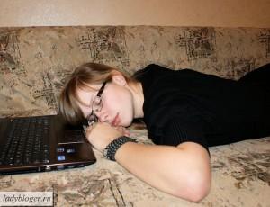 Сон у компьютера