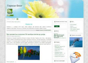 Геркси блог